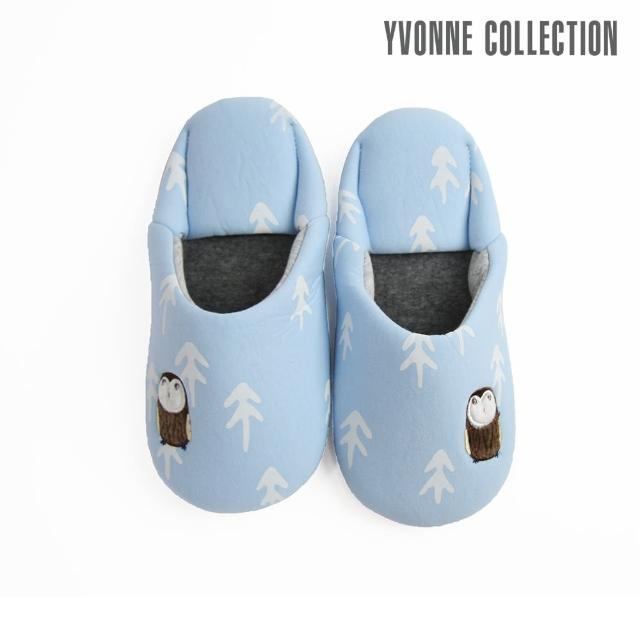 【Yvonne Collection】貓頭鷹日式拖鞋(2色)