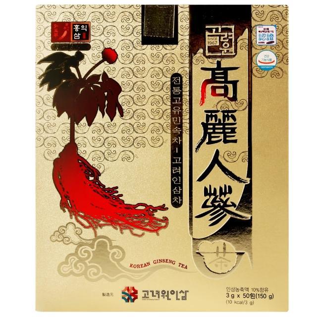 【KOREAN】高麗人蔘茶(150g)