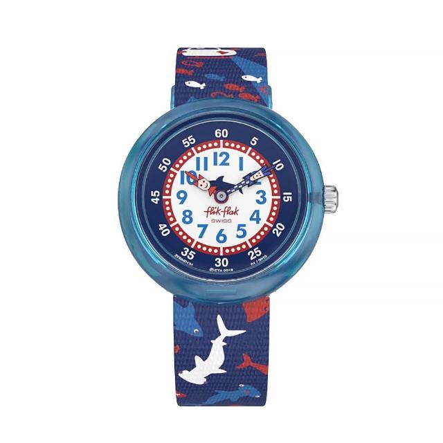 【Flik Flak】兒童錶 DEEP TRIP 水底世界 菲力菲菲錶(31.85mm)