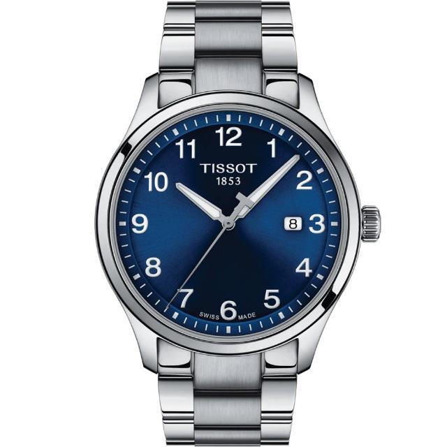 【TISSOT 天梭】紳士XL經典石英手錶-41mm(T1164101104700)