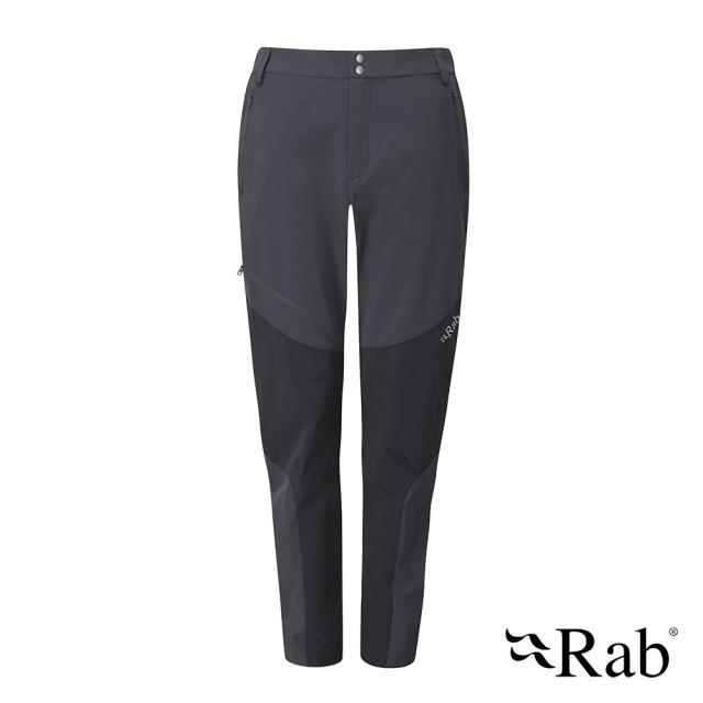 【RAB】Torque Mountain Pants 防輕量彈性軟殼長褲 女款 鯨魚灰 #QFU41