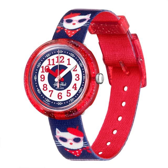【Flik Flak】兒童錶 CATITUDE 菲力菲菲錶(31.85mm)