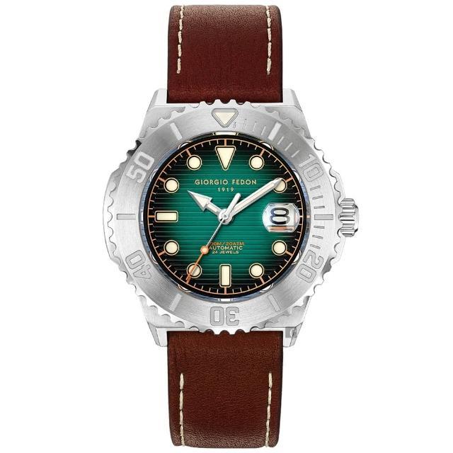 【GIORGIO FEDON 1919】浪行者潛水機械錶-44.5mm(GFCS003)