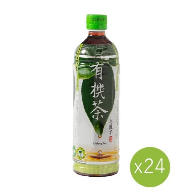 【里仁】有機茶烏龍茶-無糖595ml(24入/箱)