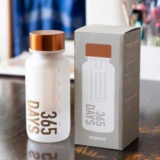 【WEMUG】冷泡式水瓶365Days霧面青銅(Tritan隨身瓶/隨行杯)