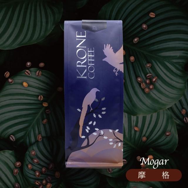 【Krone 皇雀咖啡】摩格咖啡豆半磅 / 227g x 2包(嚴選綜合咖啡豆)