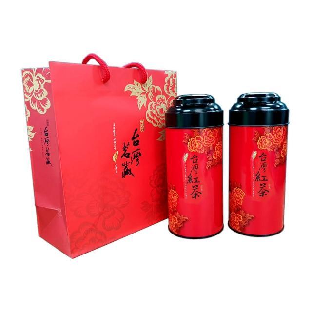 【新造茗茶】台灣頂級蜜香紅茶(100g*2罐)