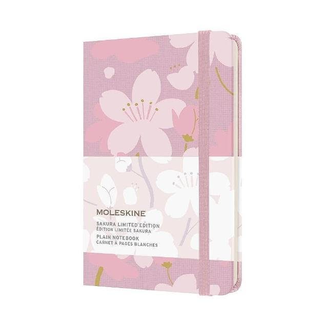 【MOLESKINE】櫻花限量筆記本-粉(口袋型空白)