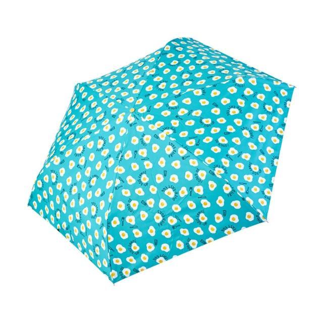 【rainstory】-8°降溫凍齡手開輕細口紅傘-Sunny Egg(遮光色膠系列)