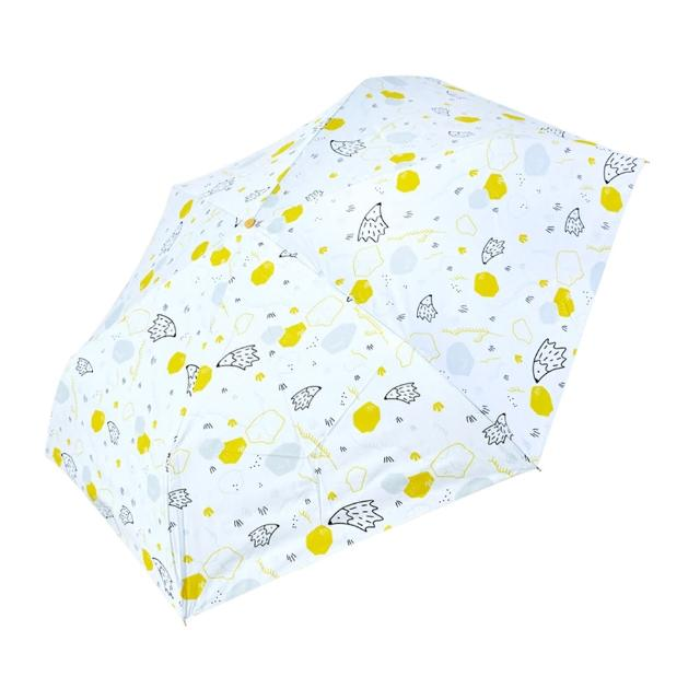 【rainstory】-8°降溫凍齡手開輕細口紅傘-刺蝟(遮光色膠系列)