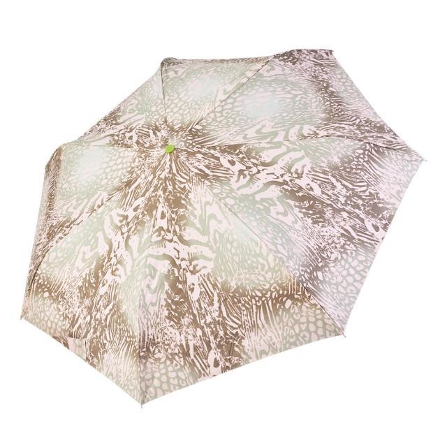 【rainstory】-8°降溫凍齡個人加大自動傘-漸層豹紋(遮光色膠系列)