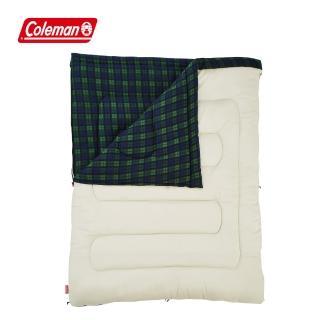 【Coleman】冒險者橄欖格紋刷毛睡袋 / C0(CM-33804M000)