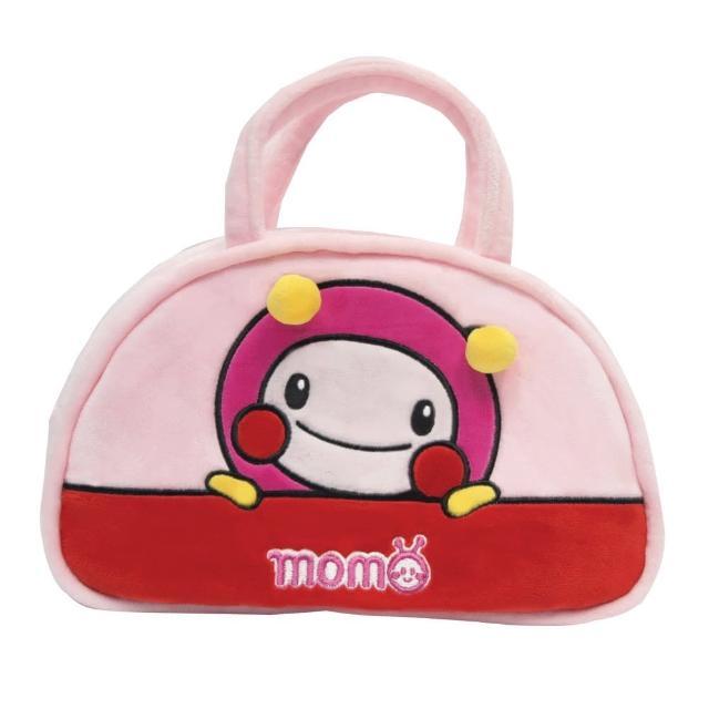 【MOMO親子台】momo絨毛小提包