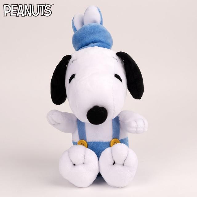【SNOOPY 史努比】史努比俏皮兔裝玩偶