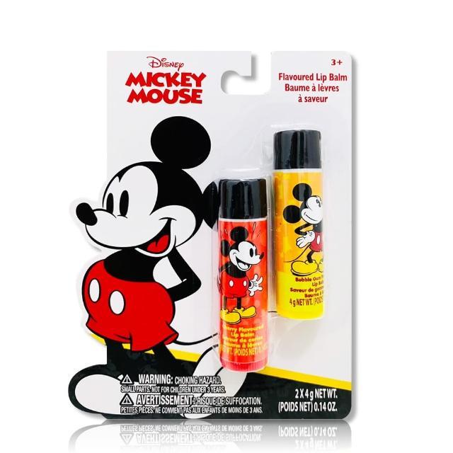 【Disney Mickey】護唇膏 4gx2入