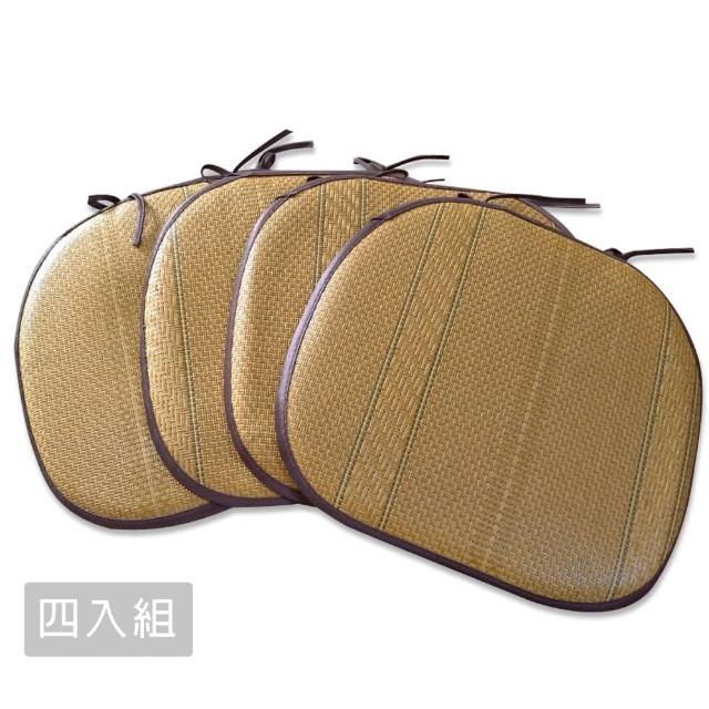 【范登伯格】新藤園 植草餐椅墊-四入組(38x42cm)