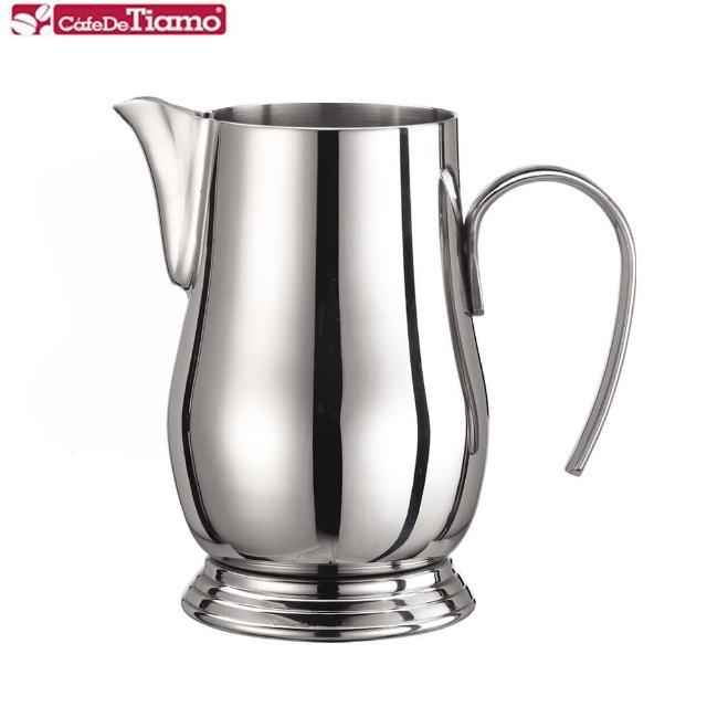 【Tiamo】304不銹鋼 宮廷拉花杯 600ml(HC7043)