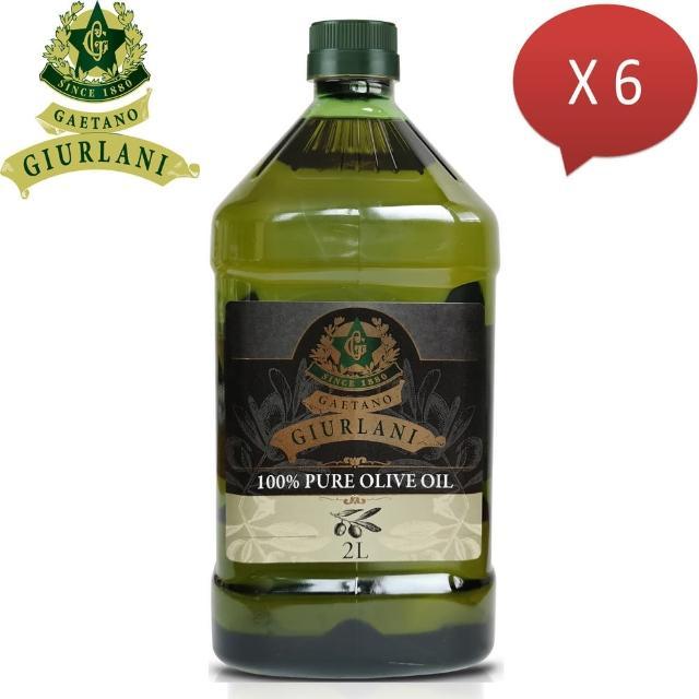 【Giurlani】促銷-老樹純橄欖油(2L x 6瓶)