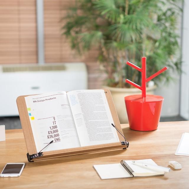 【SYSMAX】〔希思美〕13段可調式高級木質多功能 看書架 /小 S(書架/閱讀架/看書架/平板架/食譜架)