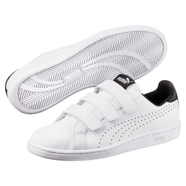 【PUMA官方旗艦】Puma Smash Velcro 網球休閒鞋 男女共同 36372303-momo購物網