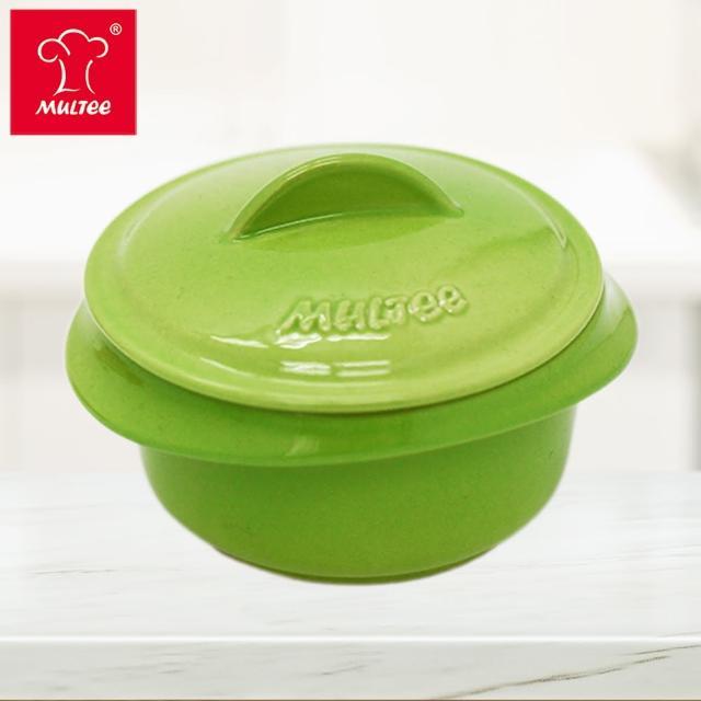 【MULTEE 摩堤】10cm迷你陶瓷鍋 / 台灣鶯歌製品(蘋果綠)