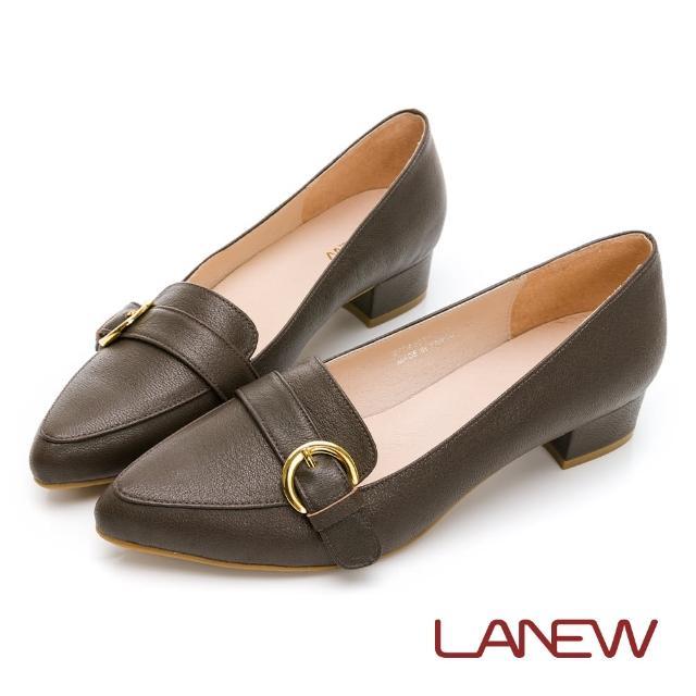 【La new】羊皮低跟淑女鞋(女66270435)