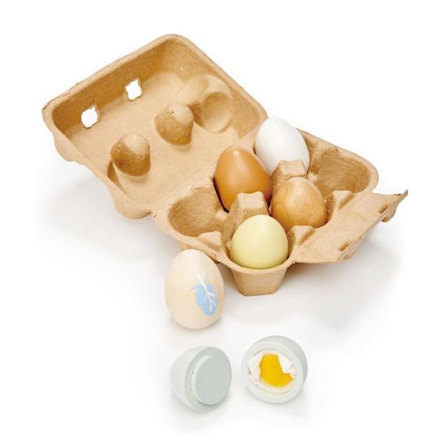 【Tender Leaf Toys】營養小雞蛋(廚房家家酒-趣味雞蛋盒)
