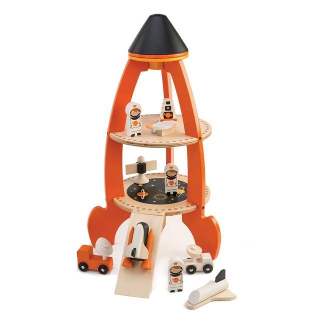 【Tender Leaf Toys】宇宙探險火箭組(積木益智遊戲)