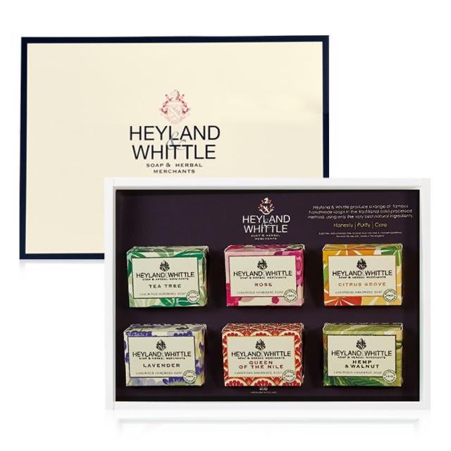 【H&W 英倫薇朵】英倫經典手工皂禮盒 彩裝限定版(母親節禮物)