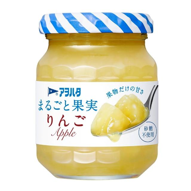 【Aohata】蘋果果醬 無蔗糖 125g(日本人氣第一)
