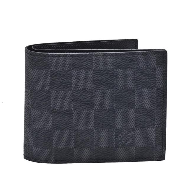 【Louis Vuitton 路易威登】N63336 經典MARCO系列Damier帆布印花折疊短夾