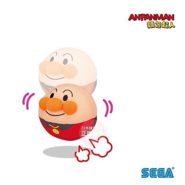 【ANPANMAN 麵包超人】寶貝抓的住 滾滾跳跳麵包超人球