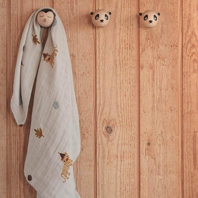 【OYOY mini】OYOY 有機棉紗布包巾組 3入