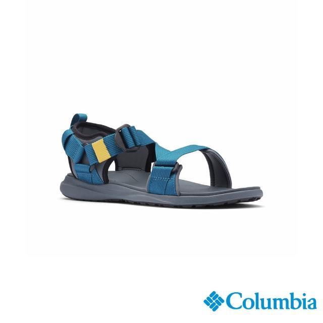 【Columbia 哥倫比亞】男款- 涼鞋-藍色(UBM01020BL/ 越野.運動.輕便)