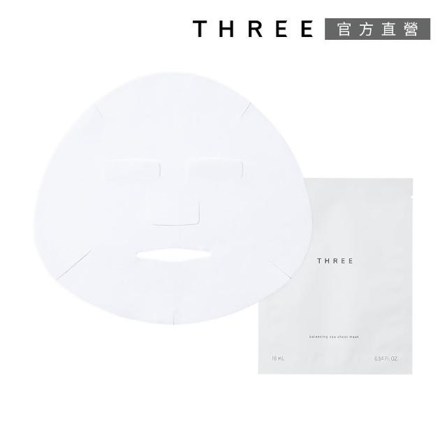 【THREE】平衡SPA面膜16mL x6片