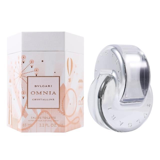 【BVLGARI 寶格麗】白水晶 晶澈女性淡香水-限量版 65ml(平輸)