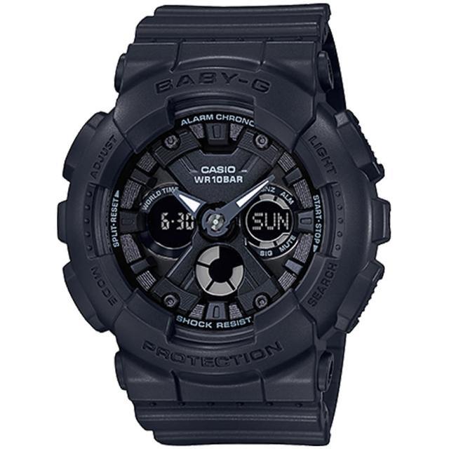 【CASIO 卡西歐】BABY-G 時尚雙顯腕錶(BA-130-1A)