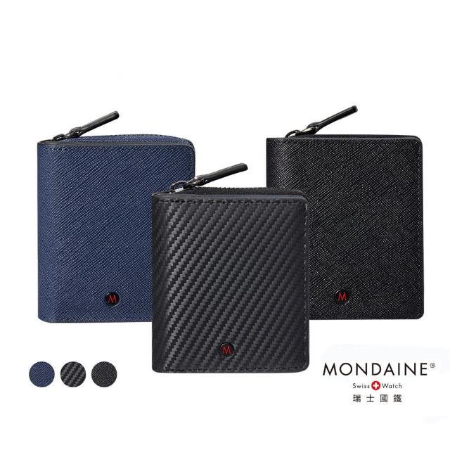 【MONDAINE 瑞士國鐵】蘇黎世系列7卡多功能零錢包短夾(多色可選)
