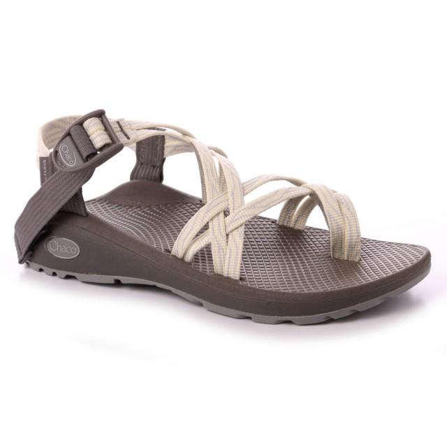 【CHACO】女 越野舒壓運動涼鞋-雙織夾腳款CH-ZLW04HH12(乳白蛇紋)