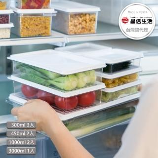 【韓國昌信生活】SENSE冰箱萬用保鮮盒8件組(限定A)