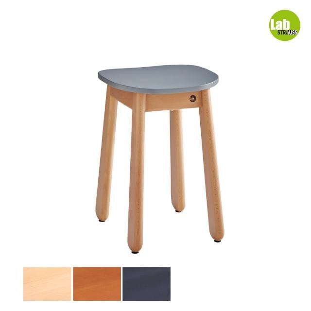 【有情門】STRAUSS Lab卡哇伊矮凳-灰色 三木色可選(製作期為10-15個工作天/實木/MIT/休閒椅/工作椅)