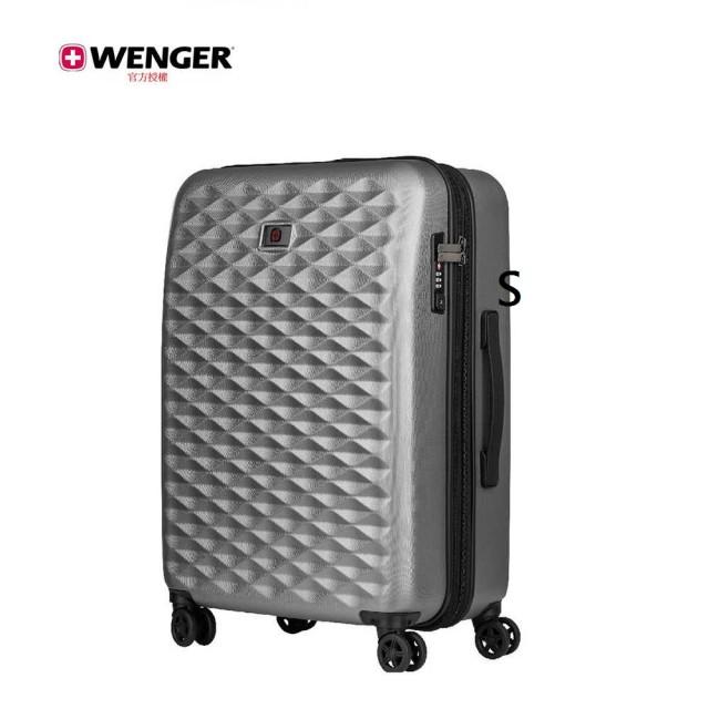 【WENGER 威戈】Lumen 24吋行李箱 / 波浪銀灰(604341)