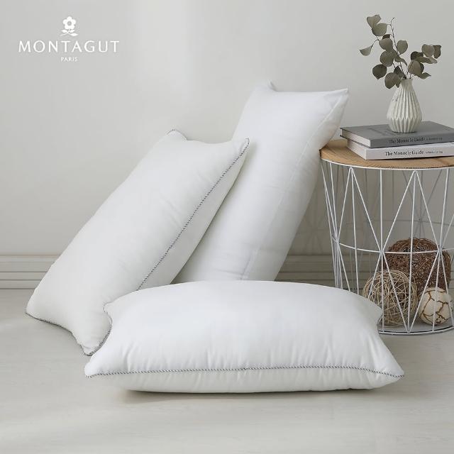 【MONTAGUT 夢特嬌】超柔水洗好眠枕PLUS(2入)