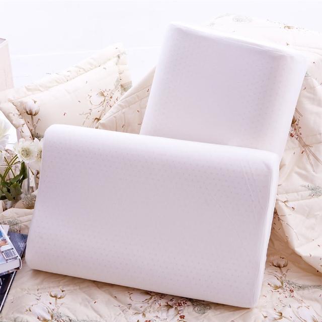 【Jenny Silk 名流寢飾】新天然工學乳膠枕 蜂巢式氣孔(60X40X10cm)