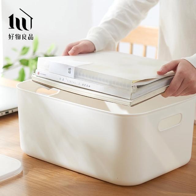 【好物良品】日式無印衣櫃/文具/雜物收納箱分類整理盒-中