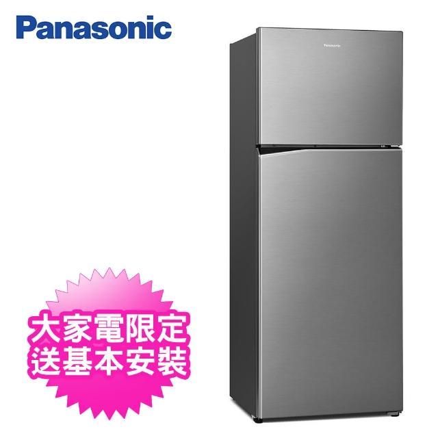 【Panasonic 國際牌】485公升一級能效雙門變頻冰箱(NR-B481TV-S晶漾銀)