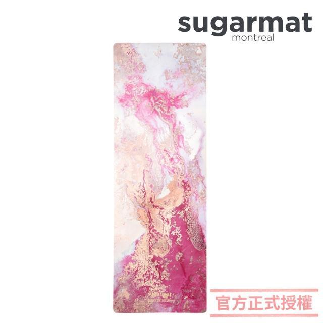 【加拿大Sugarmat】麂皮絨天然橡膠瑜珈墊 3.0mm 追夢者 Dream Catcher(粉色)