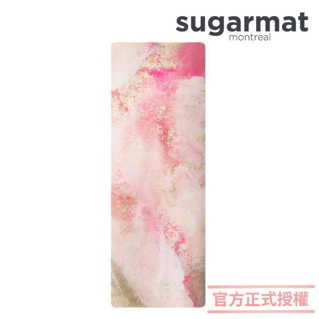 【加拿大Sugarmat】麂皮絨天然橡膠瑜珈墊 3.0mm(熱戀粉 Love Affiair)