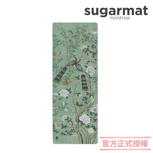 【加拿大Sugarmat】麂皮絨天然橡膠瑜珈墊 3.0mm(古典翡翠 Jade panel)