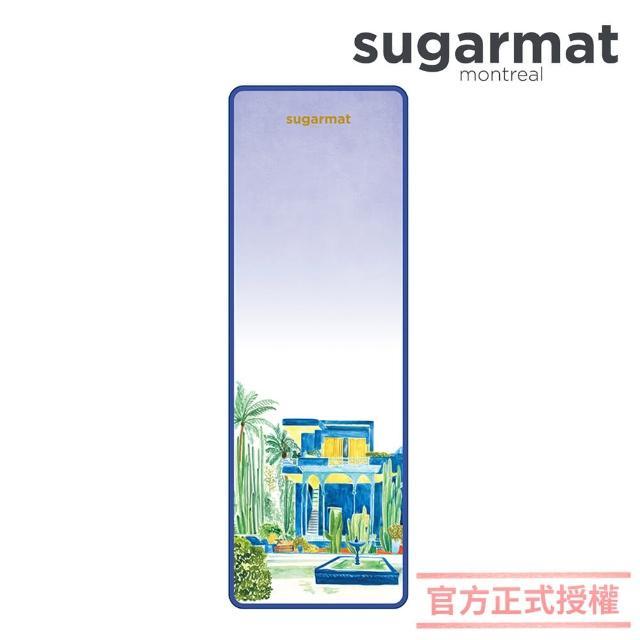 【加拿大Sugarmat】頂級TPE瑜珈墊 5mm(馬若雷勒花園 Jardin Majorelle)